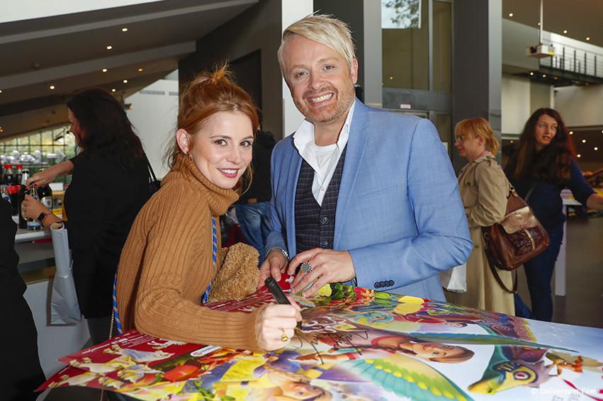 BAYALA: Josefine Preuß und Ross Antony über die Magie des bunten Kinoabenteuers