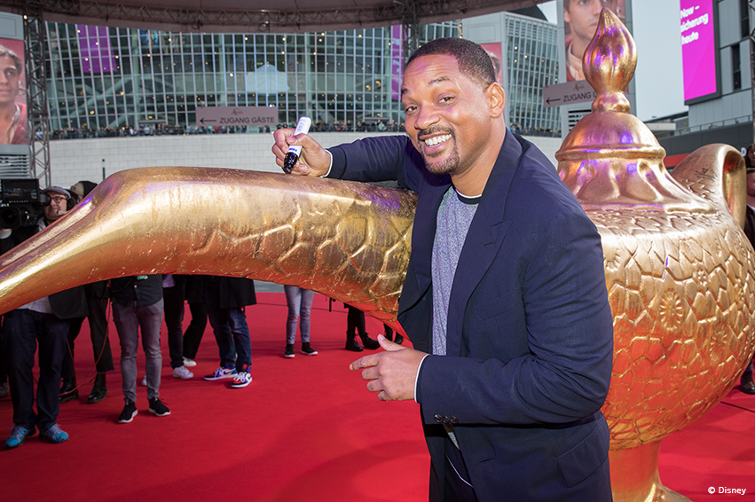 It's Showtime! Superstar Will Smith rockt den roten Teppich in Berlin!