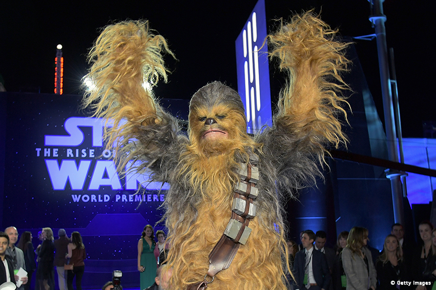 STAR WARS IX: EPISCHE WELTPREMIERE IN LOS ANGELES
