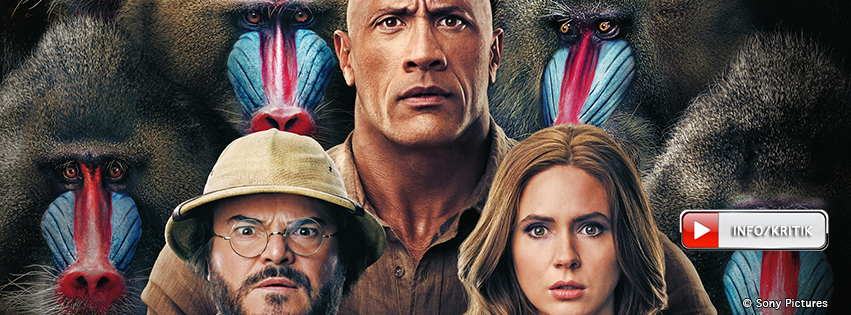 Jumanji: The Next Level: Jetzt im Kino