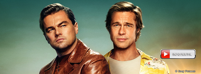 Once Upon A Time in Hollywood: Jetzt im Kino