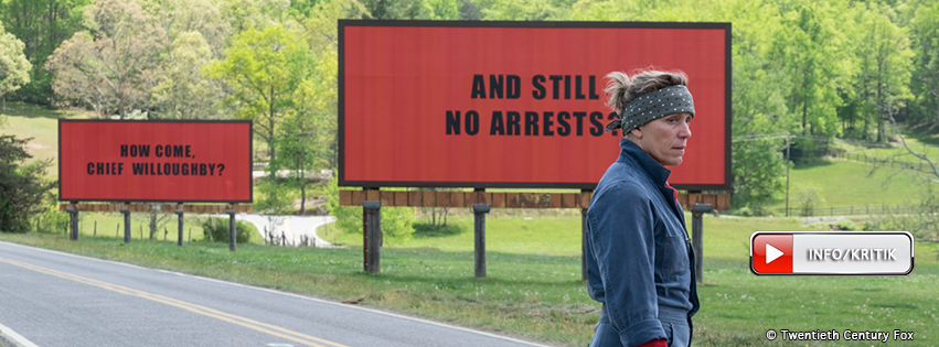 Three Billboards Outside Ebbing, Missouri: 25.01.2018
