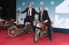 25 km/h: Rasante Premiere im Sony Center