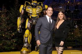 Bumblebee: Hailee Steinfeld, John Cena und Regisseur Travis Knight in Berlin