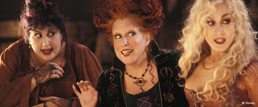 >> HOCUS POCUS 2: Die Hexen kehren bei Disney + zurück!!