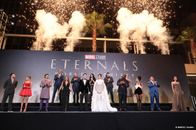 ETERNALS: Berauschende Premiere in Hollywood!